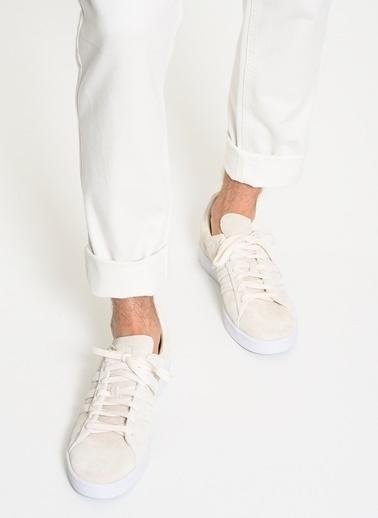 adidas Campus Stitch And T Beyaz